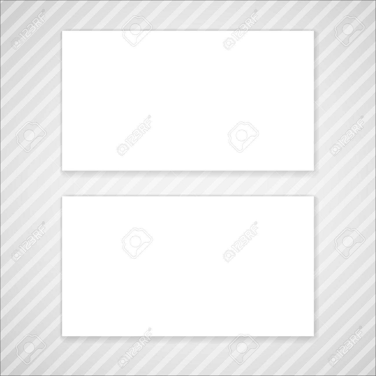 Blank vector business card template mock up for your design royalty blank vector business card template mock up for your design stock vector 39563240 reheart Images