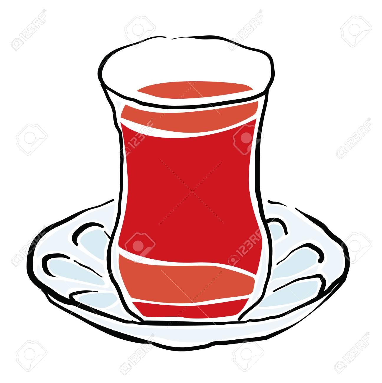 turkish tea vector drawing royalty free cliparts vectors and stock illustration image 91210625 turkish tea vector drawing