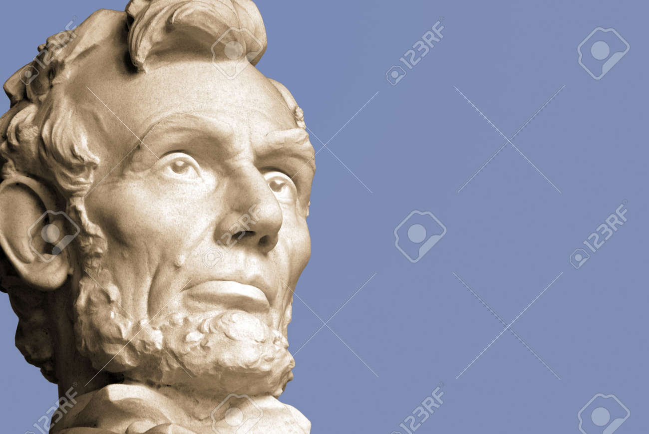 Abraham Lincoln, the sixteenth President of the United States. Stock Photo - 3103958
