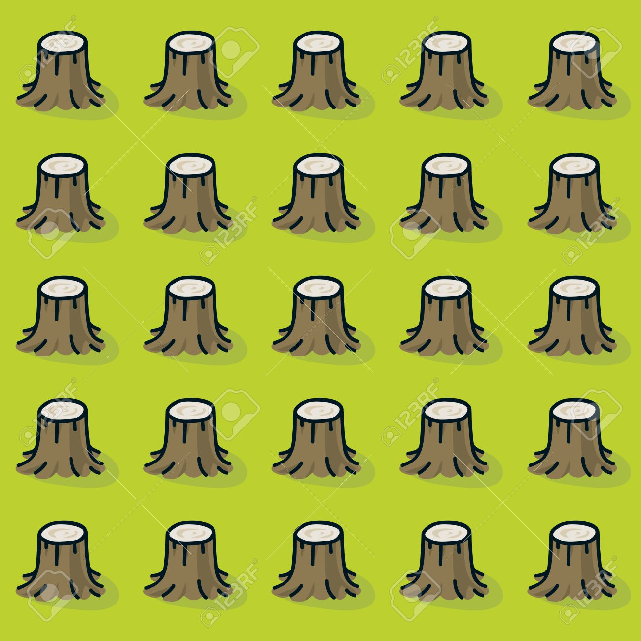 Cartoon Tree Stumps In A Forest That Was Completely Cut Down Stock Photo Picture And Royalty Free Image Image 28815060 Were the trees cut down. cartoon tree stumps in a forest that was completely cut down