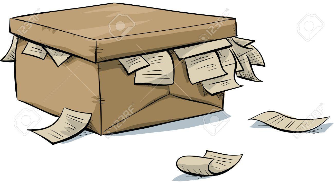 """Résultat de recherche d'images pour """"boite avec des documents"""""""