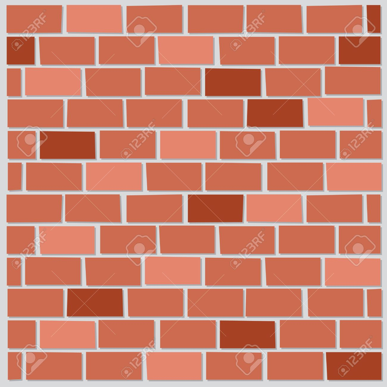 a cartoon backdrop of a brick wall stock photo picture and royalty rh 123rf com cartoon brick wall black and white cartoon brick wall black and white