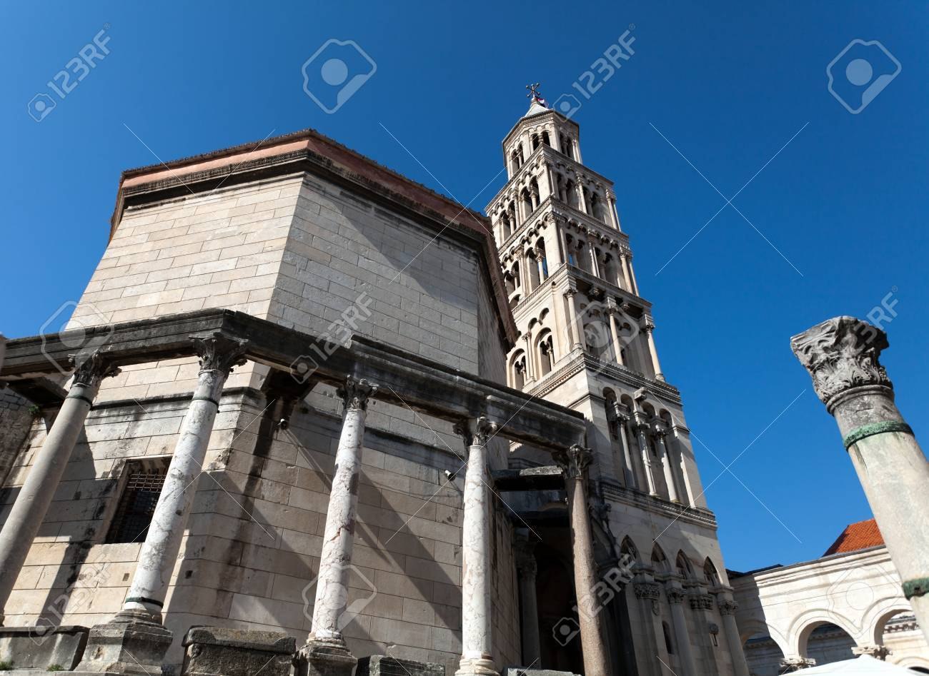 Cathedral of St  Dominus, Diocletian Stock Photo - 12790028