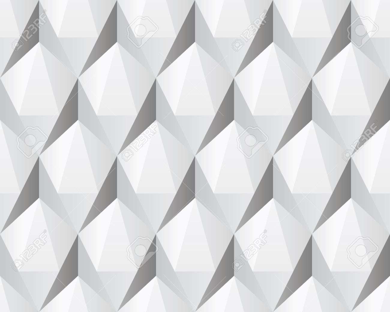 White Seamless Background White 3d abstract seamless