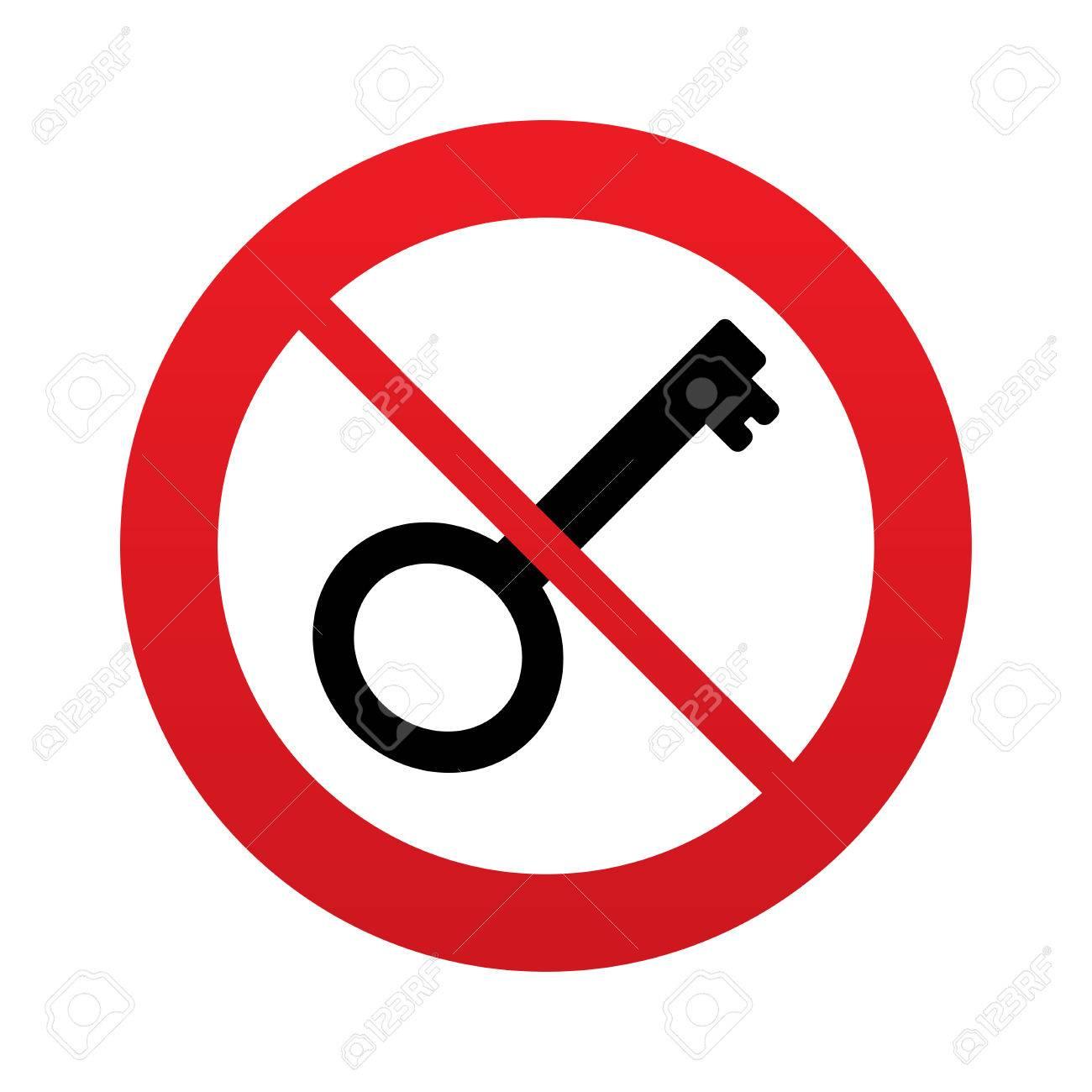 Büroklammer clipart  Anahtar Işareti Simgesini Kullanmayın. Aracı Sembolü Kilidini ...