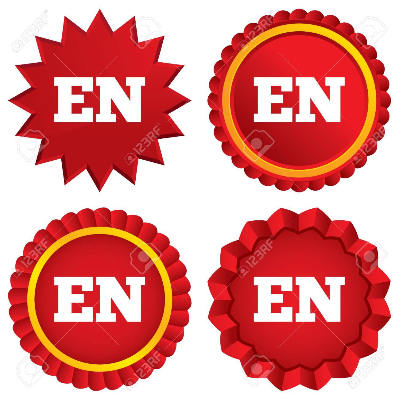 Inglés Icono De La Lengua De Signos Es Símbolo Traducción