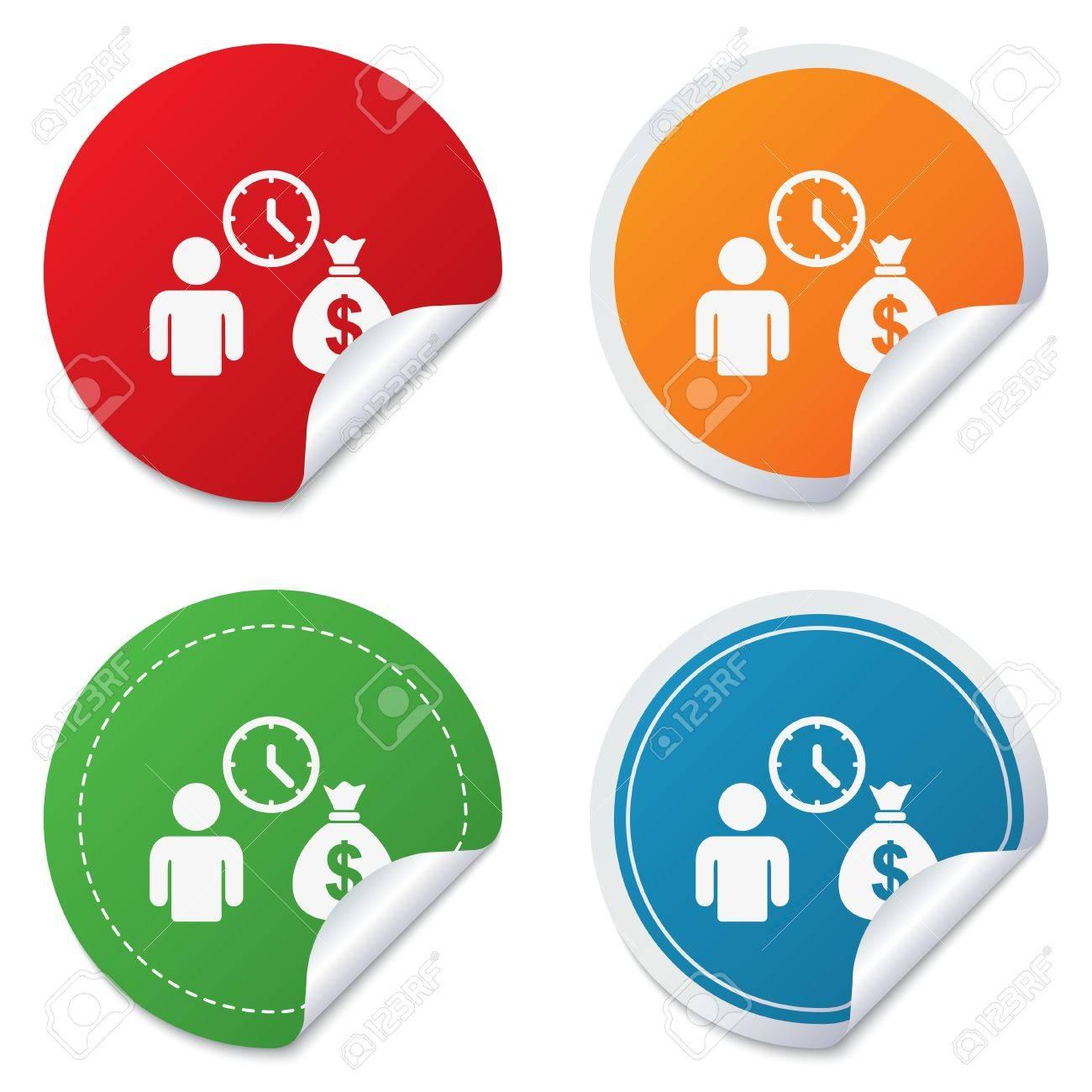 Making Money Icons Make Money Way Online to rf