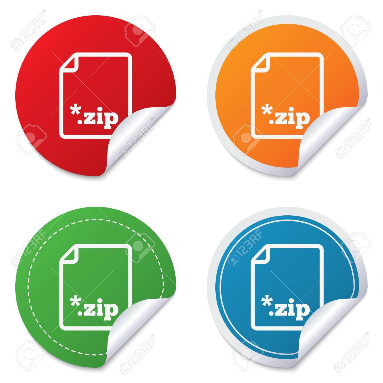 Archive File Icon  Download Compressed File Button  ZIP