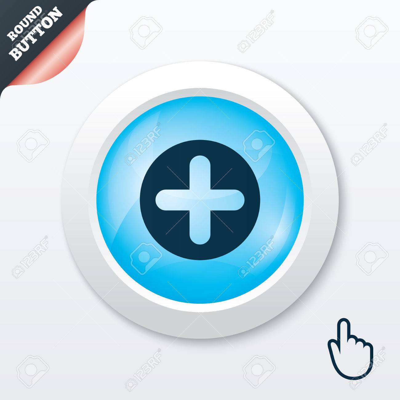 Plus sign icon positive symbol zoom in blue shiny button plus sign icon positive symbol zoom in blue shiny button modern ui biocorpaavc Choice Image