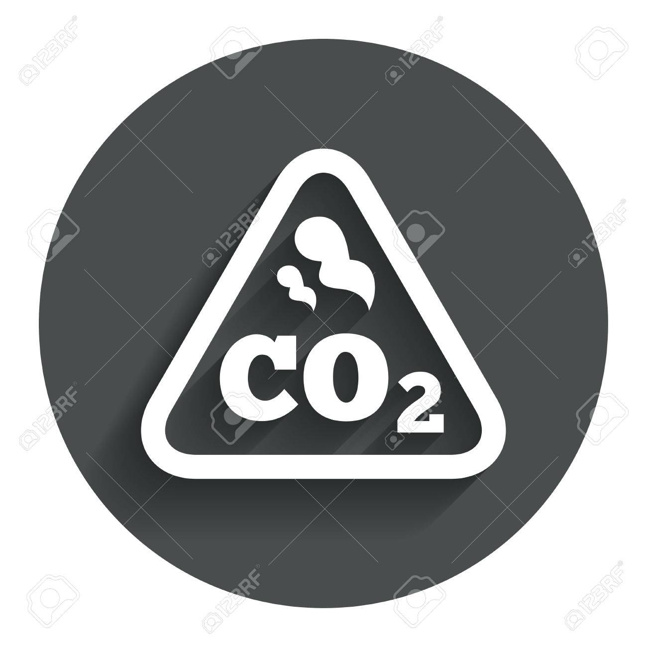 Co2 carbon dioxide formula sign icon chemistry symbol circle co2 carbon dioxide formula sign icon chemistry symbol circle flat button with shadow buycottarizona Images