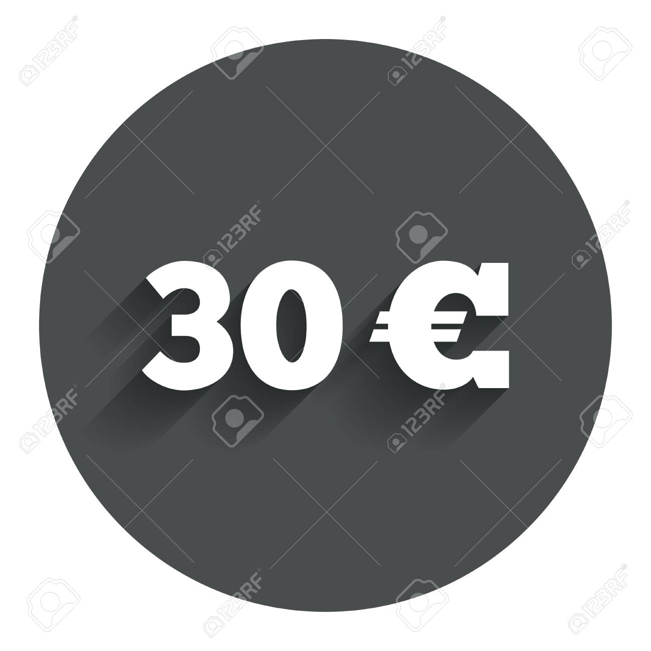 30 euro sign icon eur currency symbol money label circle flat 30 euro sign icon eur currency symbol money label circle flat button with buycottarizona Gallery