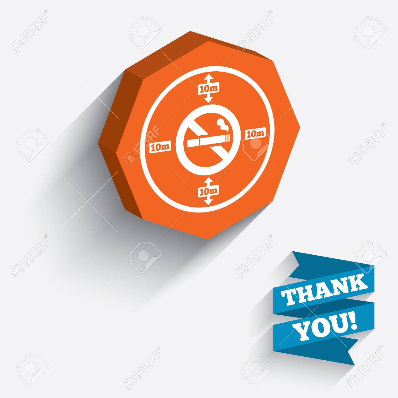 No smoking 10m distance sign icon stop smoking symbol white no smoking 10m distance sign icon stop smoking symbol white icon on orange 3d buycottarizona Images
