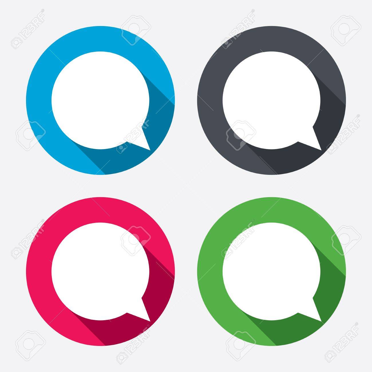 chat sign icon speech bubble symbol communication chat bubbles