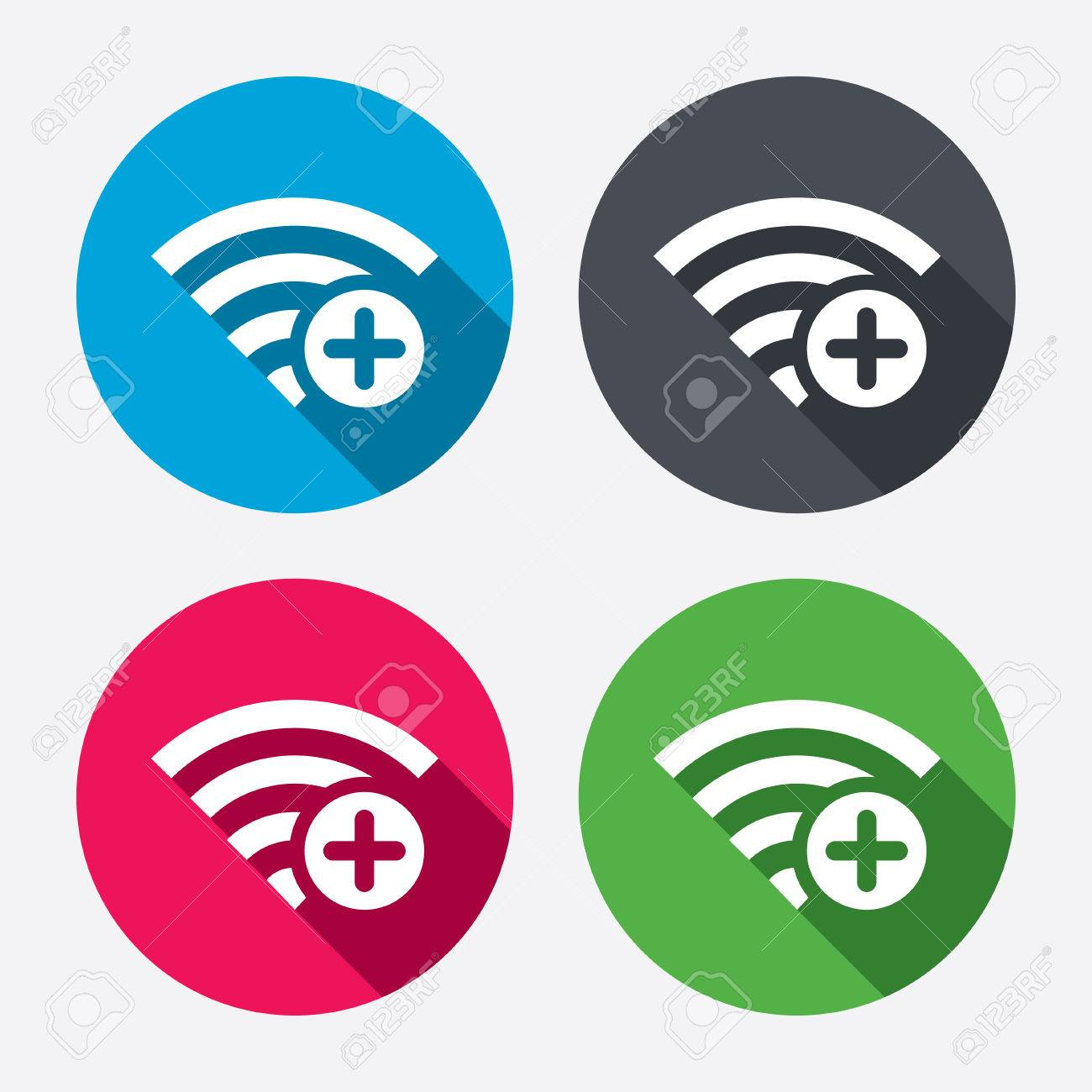 Wifi plus sign add wifi symbol wireless network icon wifi wifi plus sign add wifi symbol wireless network icon wifi zone circle biocorpaavc Choice Image
