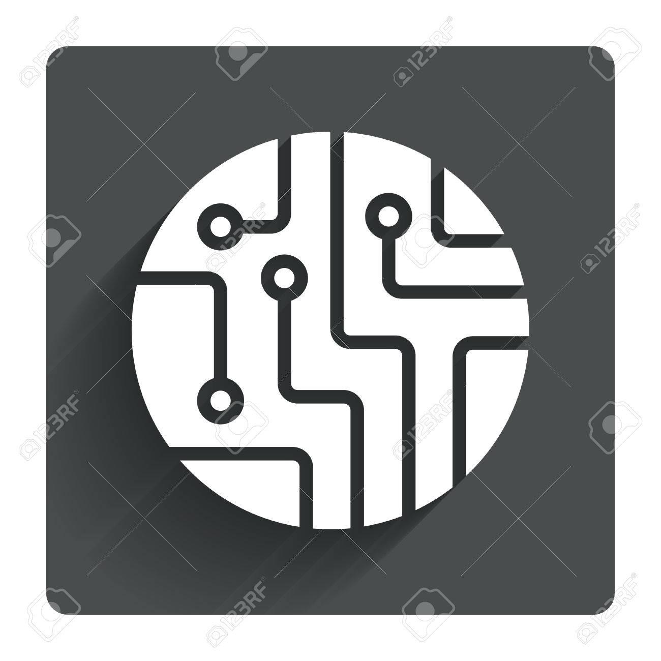 Funky Printed Circuit Board Symbol Crest - Wiring Diagram Ideas ...