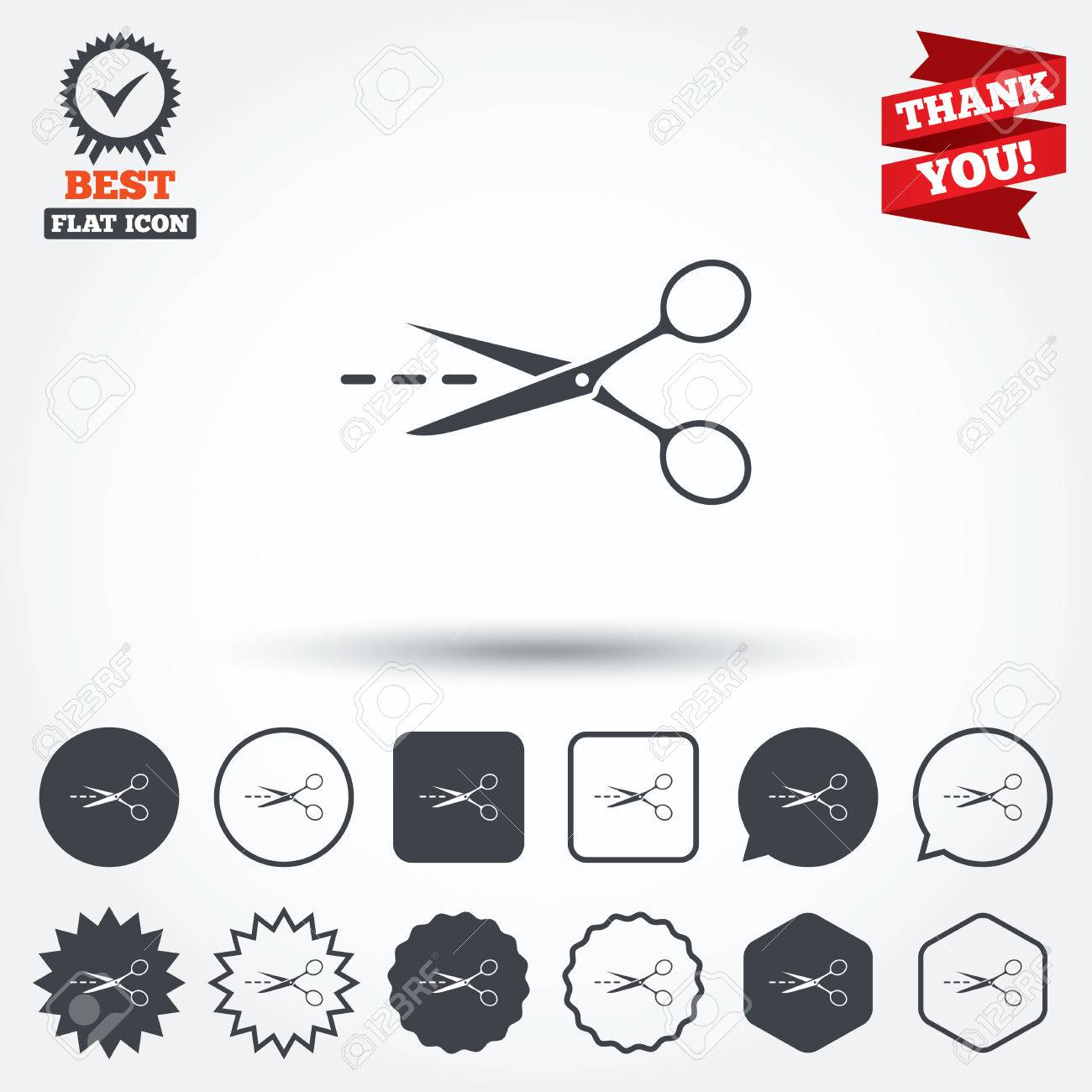 Scissors with cut dash dotted line sign icon tailor symbol scissors with cut dash dotted line sign icon tailor symbol circle star biocorpaavc