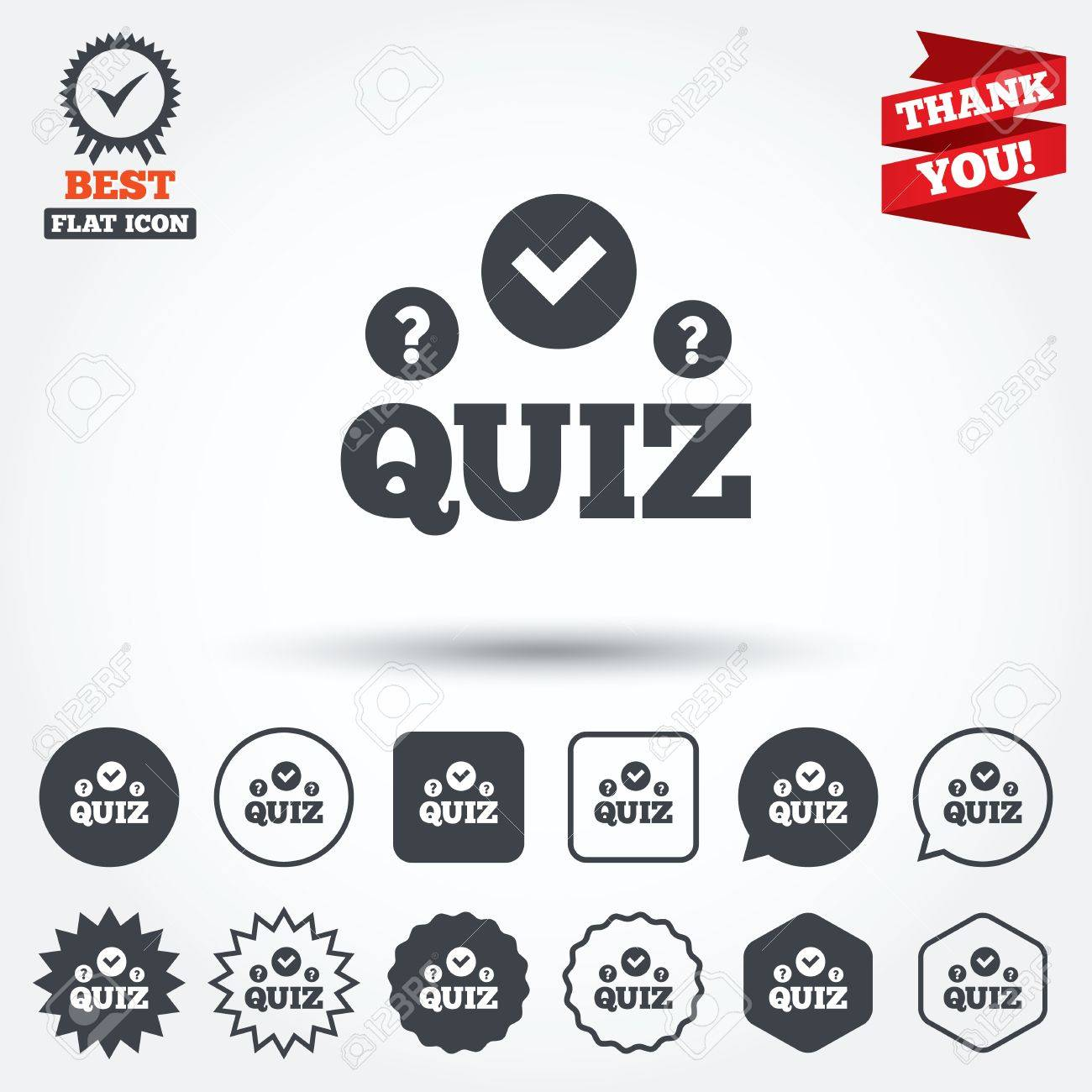 quiz check and question marks sign icon questions and quiz check and question marks sign icon questions and answers game symbol circle