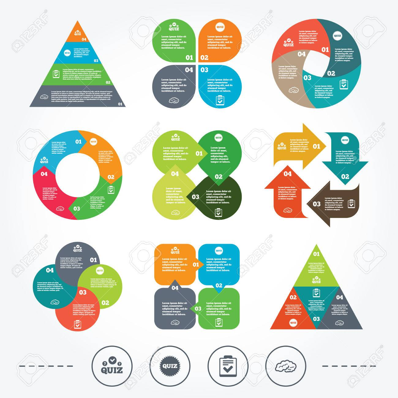 Circle and triangle diagram charts quiz icons human brain think circle and triangle diagram charts quiz icons human brain think checklist symbol ccuart Gallery