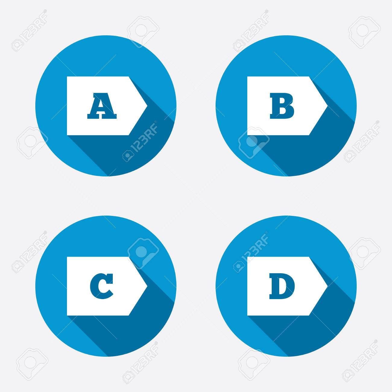 Energy efficiency class icons energy consumption sign symbols energy efficiency class icons energy consumption sign symbols class a b c biocorpaavc Images