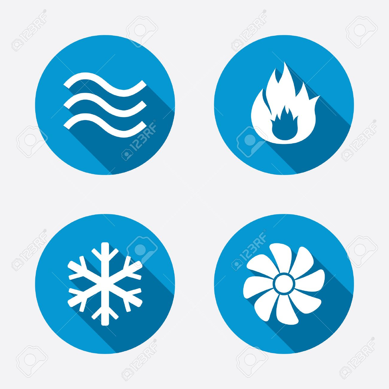 Water Flow Icons