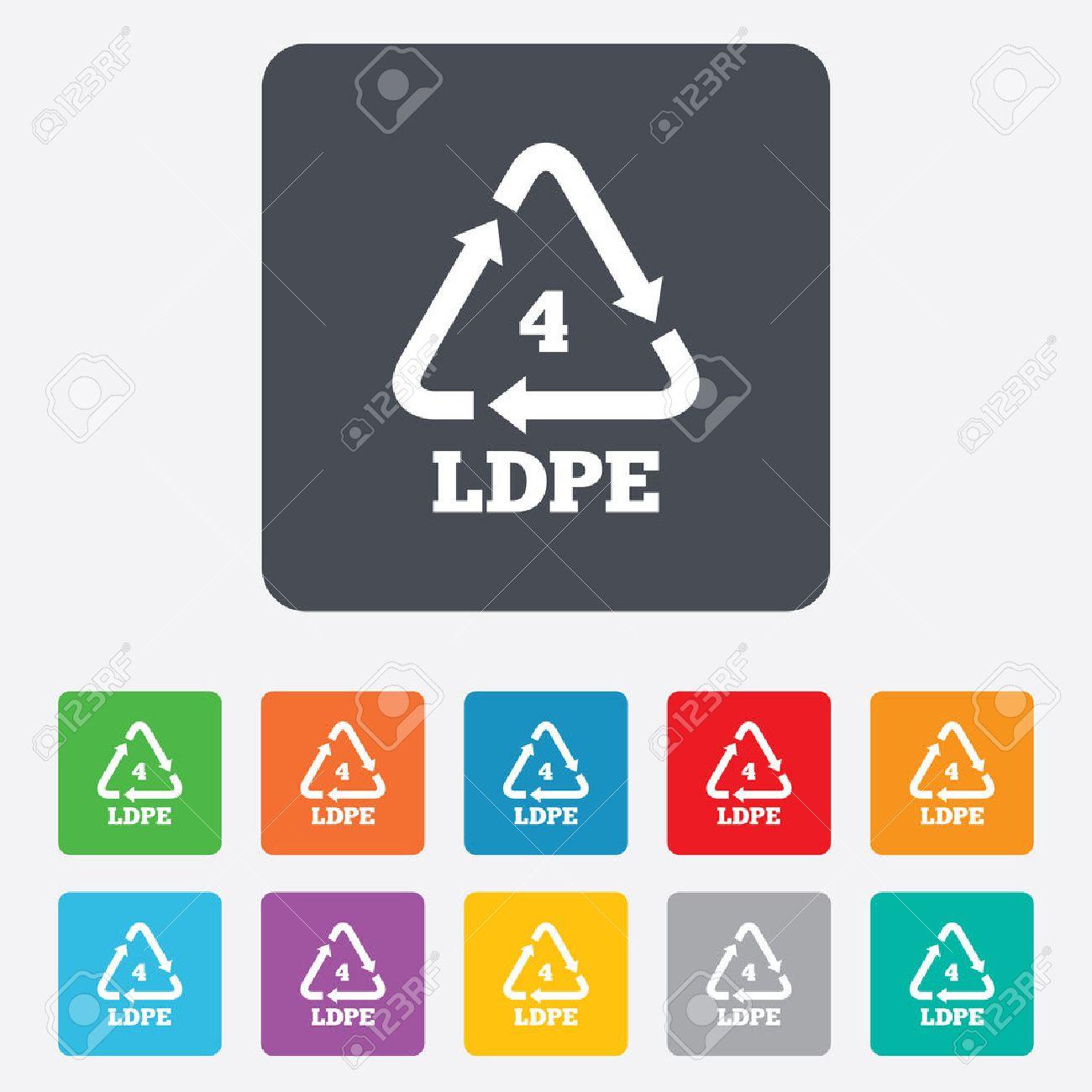 Ld pe 4 icon low density polyethylene sign recycling symbol ld pe 4 icon low density polyethylene sign recycling symbol rounded biocorpaavc Choice Image