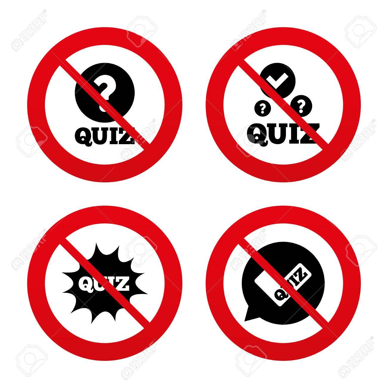No ban or stop signs quiz icons speech bubble with check mark speech bubble with check mark symbol buycottarizona
