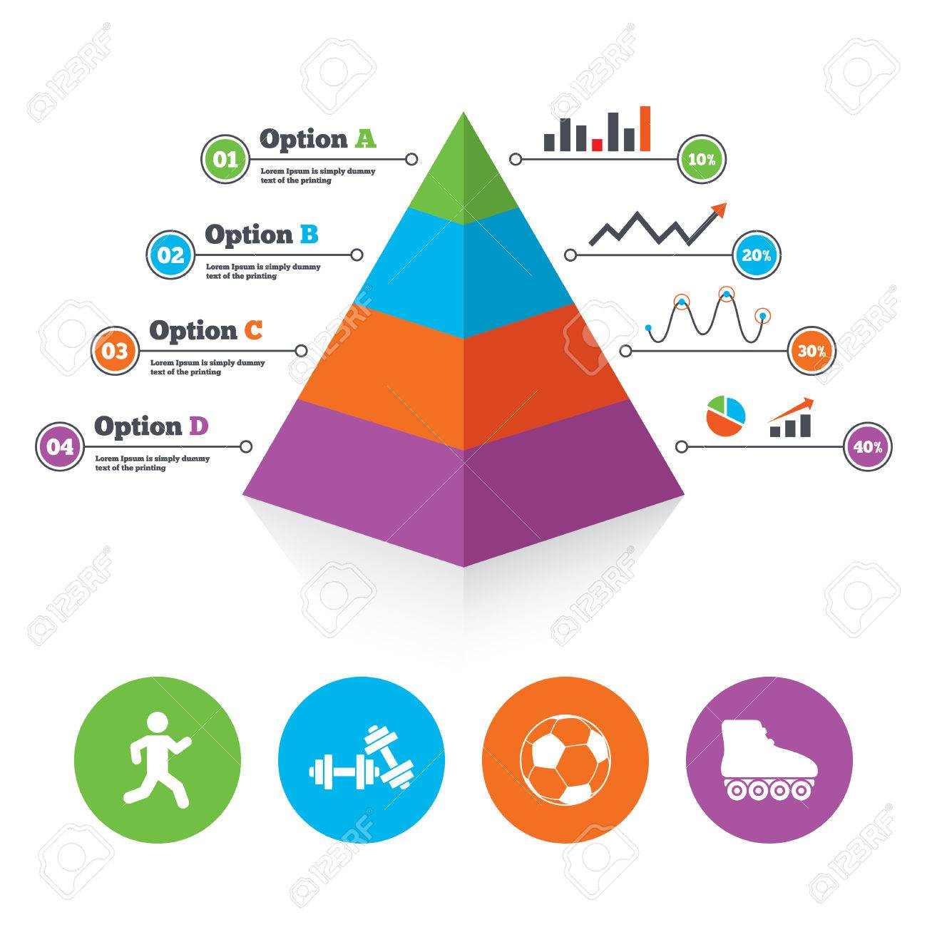 Work Out Charts Template from previews.123rf.com