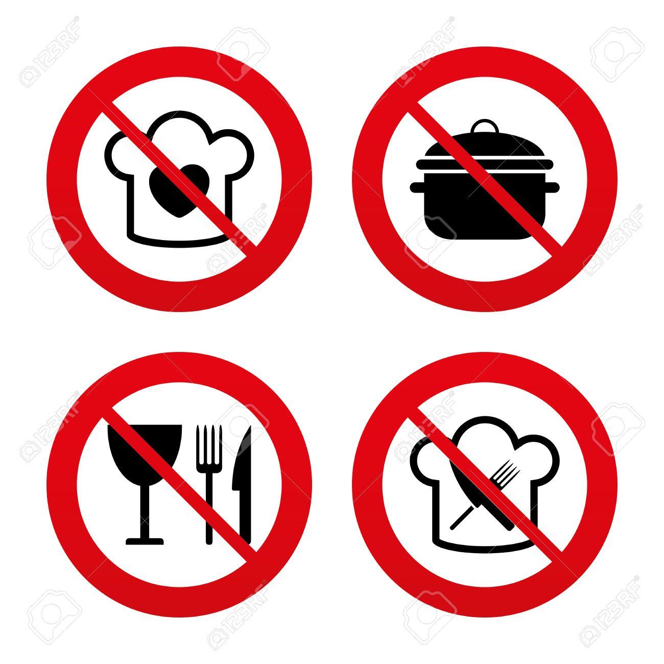 Signos No, Ban O Detenerse. Sombrero De Jefe Con El Corazón Y La ...