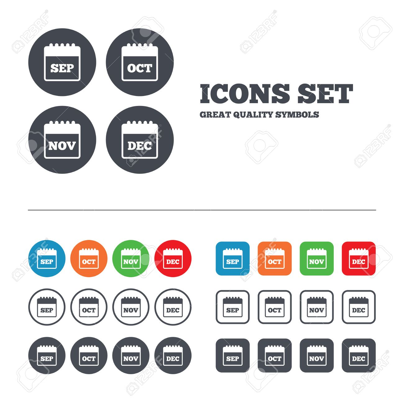 Dating website icons buttons