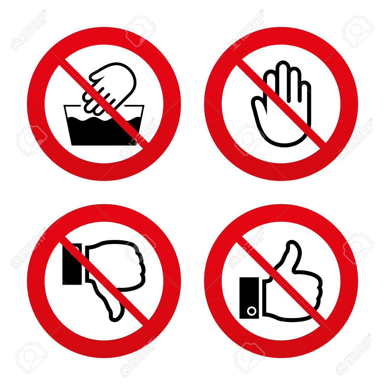 No ban or stop signs hand icons like and dislike thumb up no ban or stop signs hand icons like and dislike thumb up symbols buycottarizona
