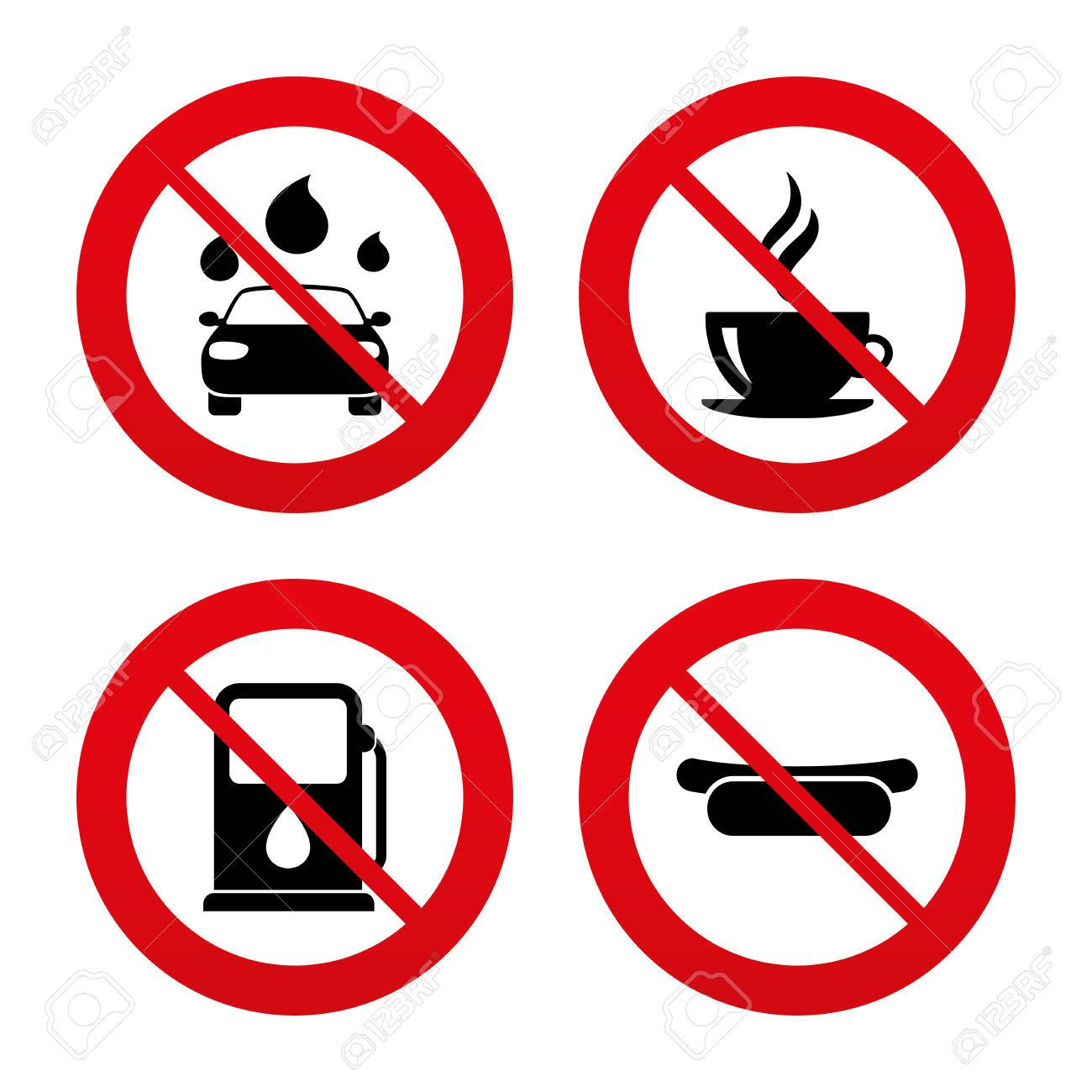 No ban or stop signs petrol or gas station services icons no ban or stop signs petrol or gas station services icons automated car biocorpaavc