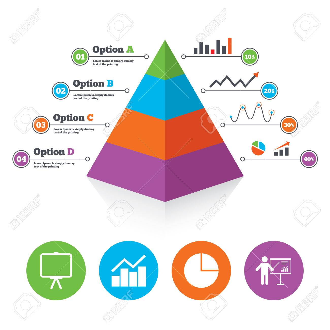 Pyramid chart template diagram graph pie chart icon presentation pyramid chart template diagram graph pie chart icon presentation billboard symbol man standing nvjuhfo Image collections