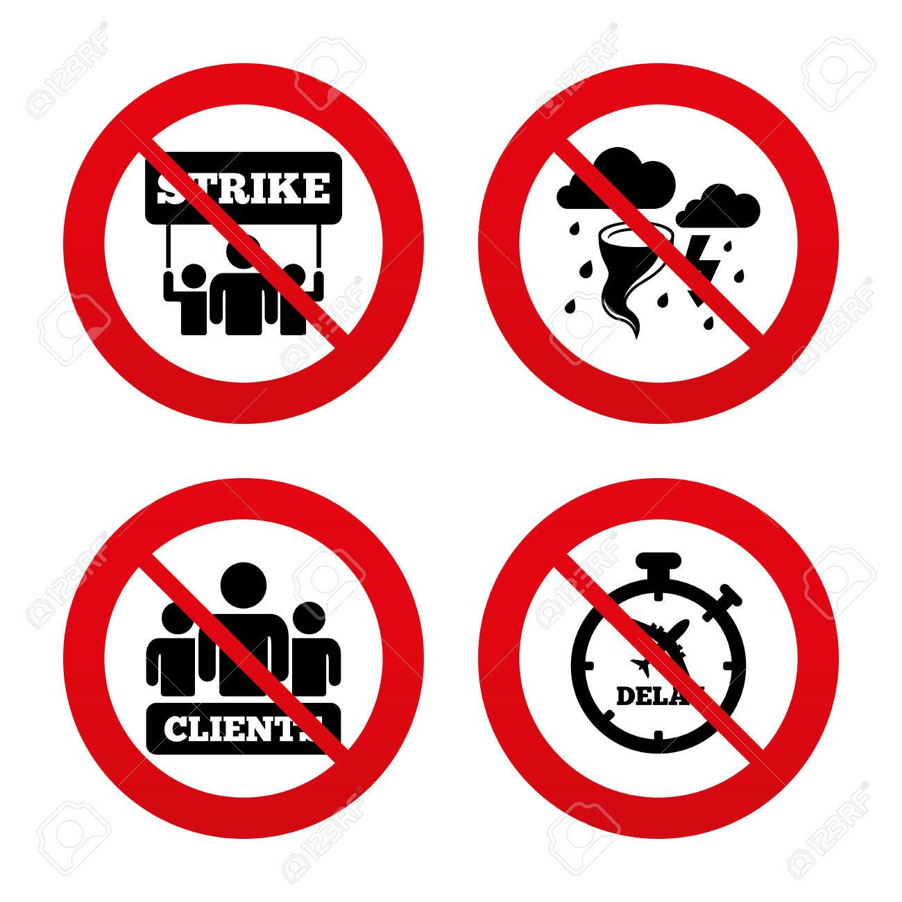 No ban or stop signs strike icon storm bad weather and group no ban or stop signs strike icon storm bad weather and group of buycottarizona Image collections