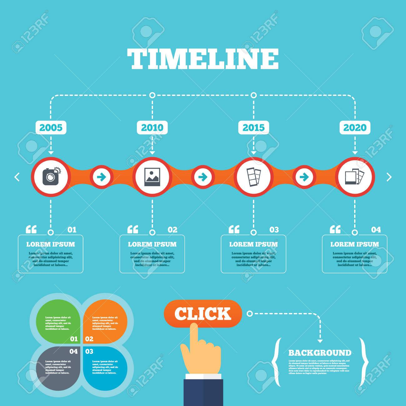Photo Booth Quotes Timeline With Arrows And Quoteshipster Photo Camera Iconflash