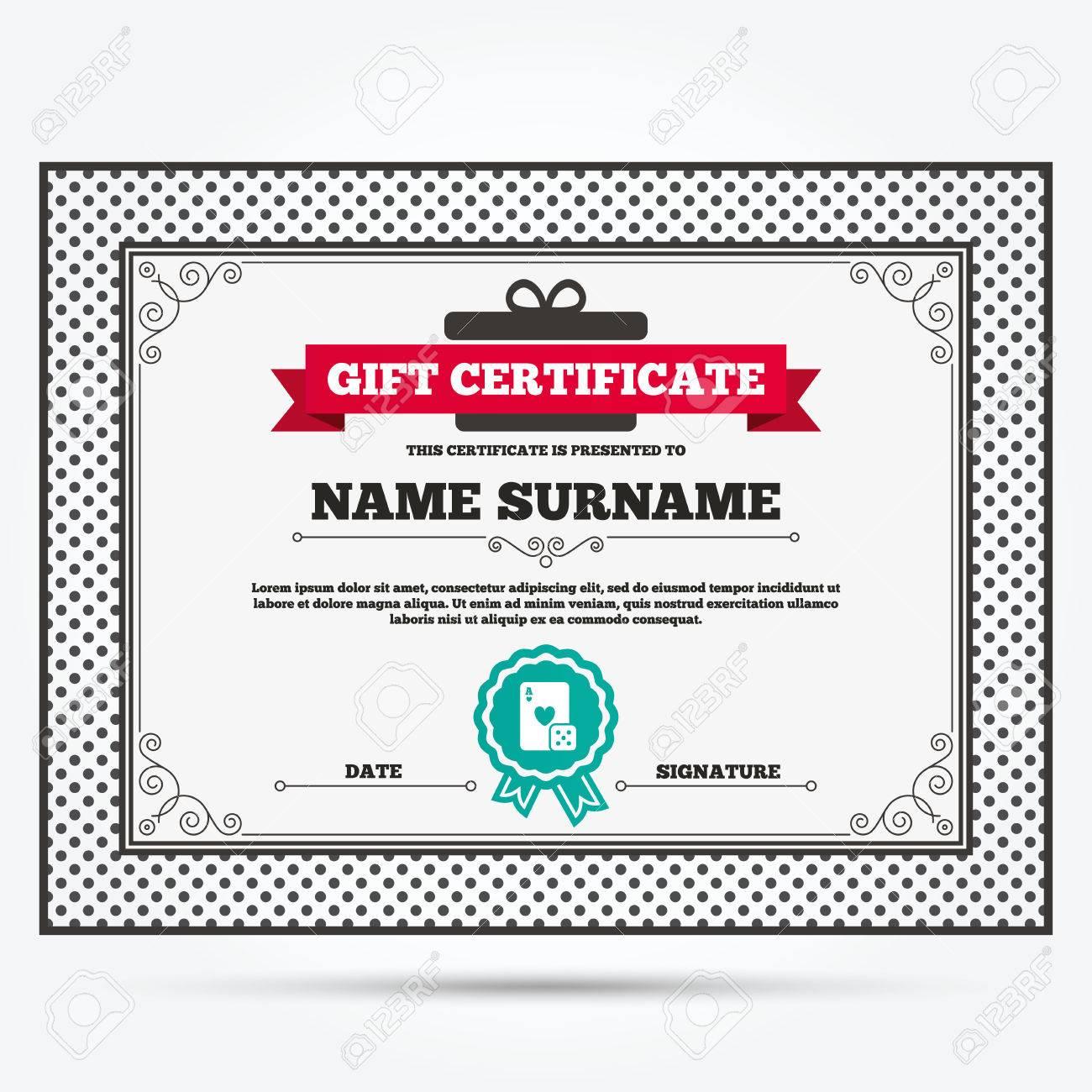 Casino gift certificate lock poker casino bonus