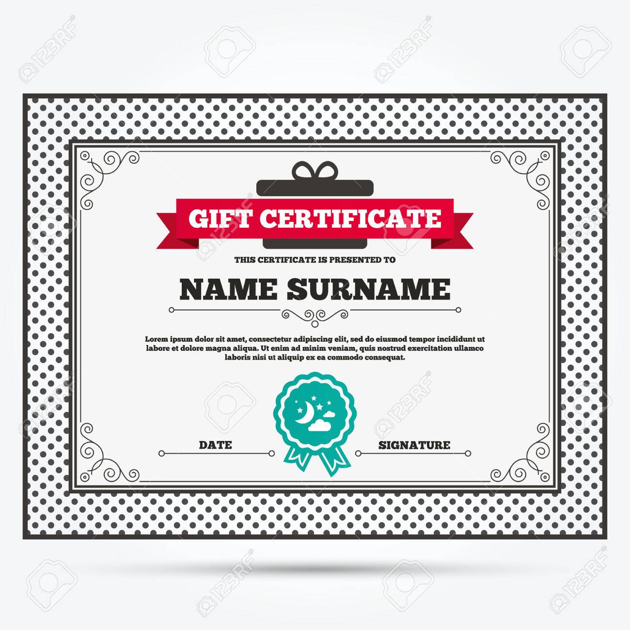 Dundie award certificate template image collections certificate 100 star award certificate template blank and editable star award certificate template gift certificate moon clouds yadclub Choice Image