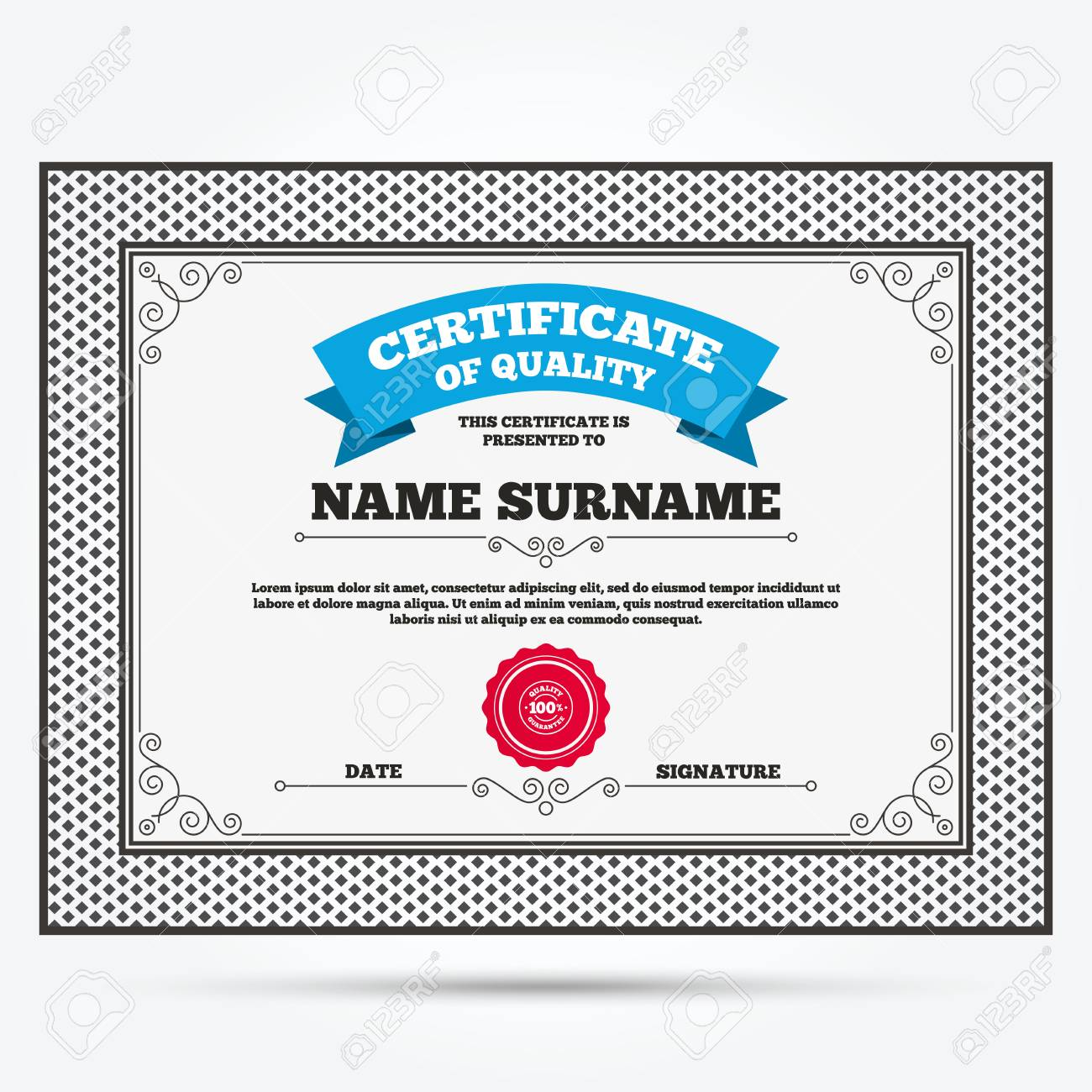 Certificate of quality 100 quality guarantee sign icon premium certificate of quality 100 quality guarantee sign icon premium quality symbol template yelopaper Choice Image