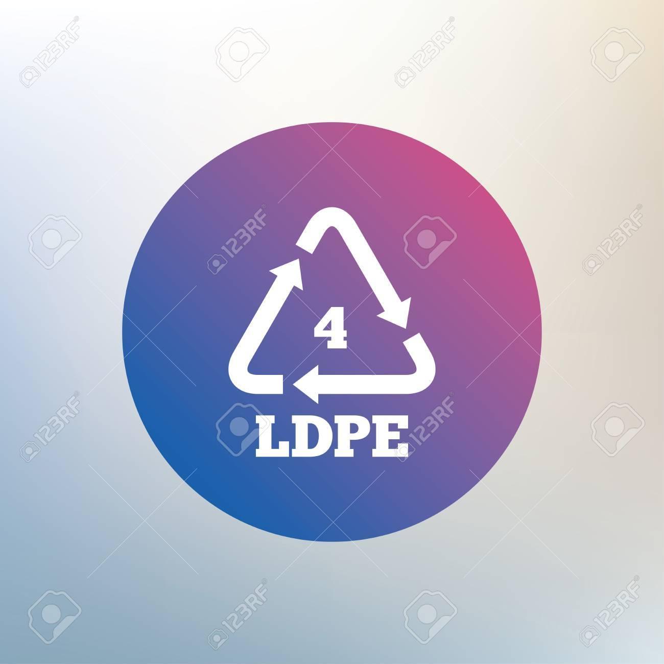 Ld pe 4 icon low density polyethylene sign recycling symbol ld pe 4 icon low density polyethylene sign recycling symbol icon biocorpaavc Choice Image