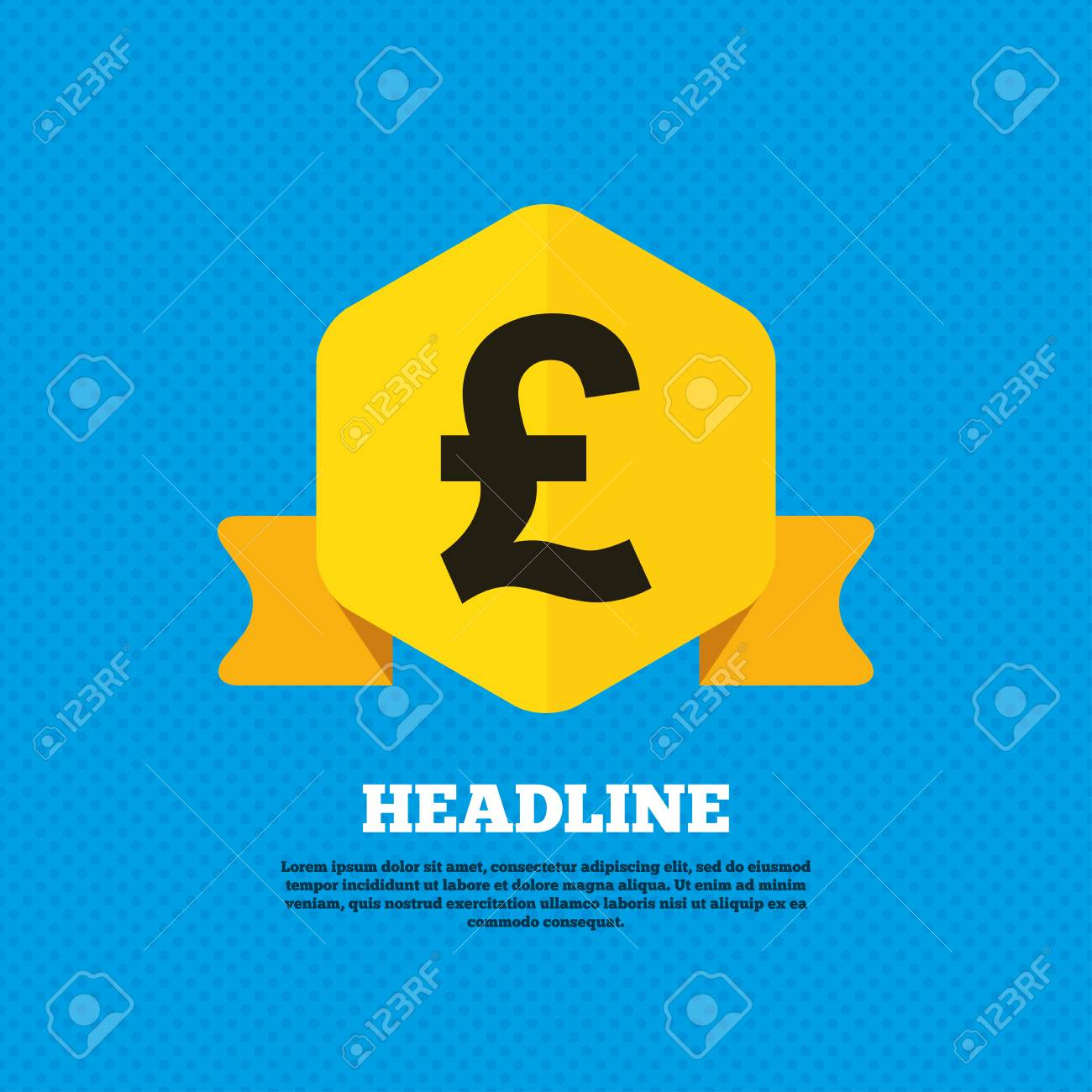 Pound sign icon gbp currency symbol money label yellow label pound sign icon gbp currency symbol money label yellow label tag circles buycottarizona Choice Image