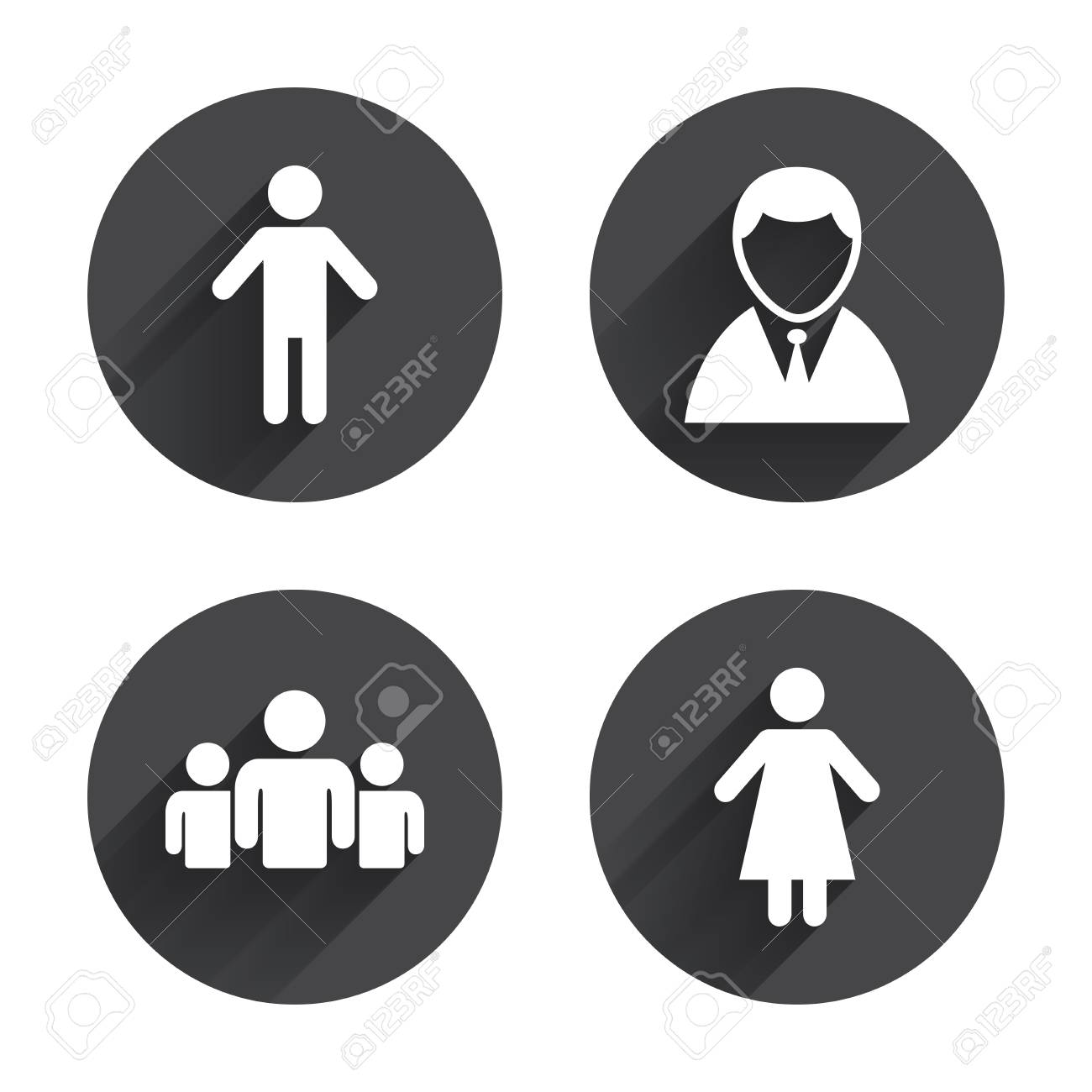 zeichen für mann oder frau