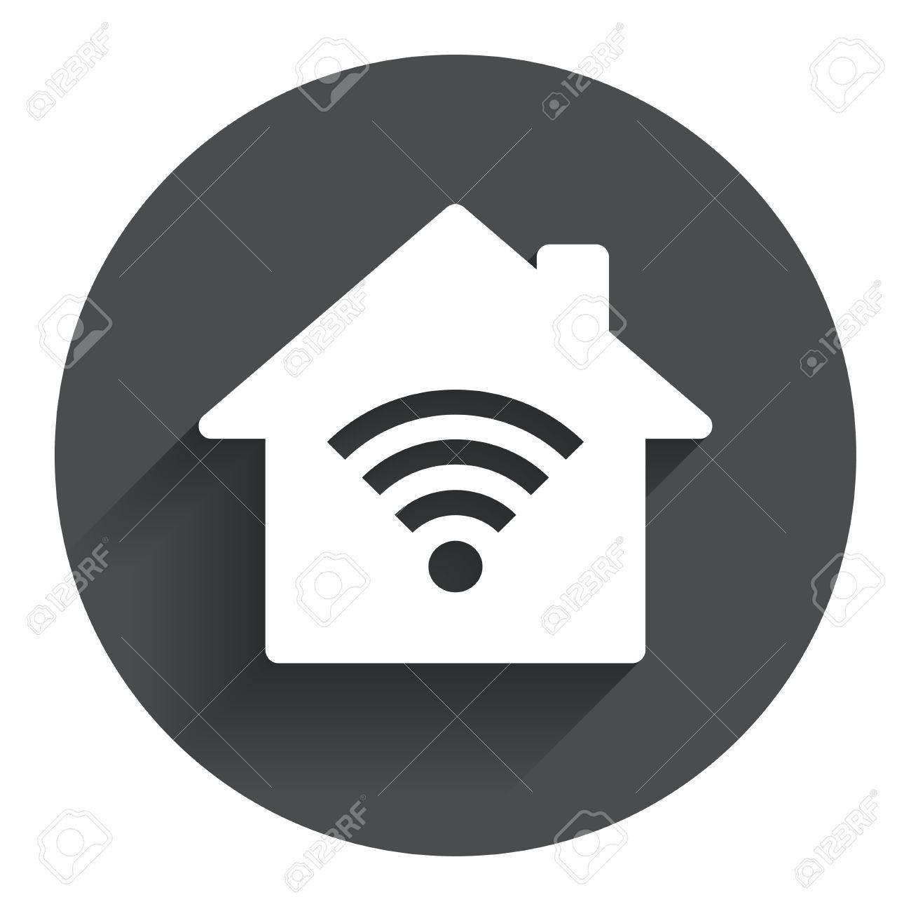 home wifi sign wi fi symbol wireless network icon wifi zone