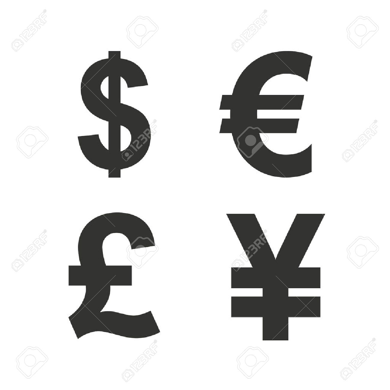 Euro Dollar Symbol Choice Image Meaning Of Text Symbols