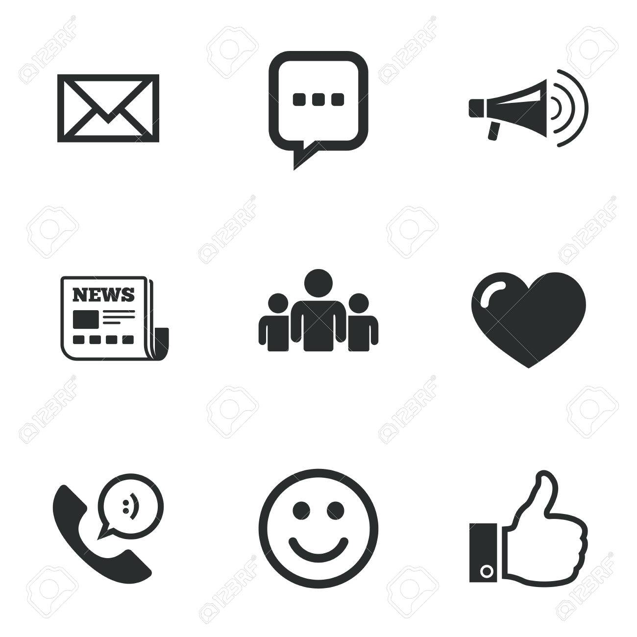 Mail news icons conference like and group signs e mail chat mail news icons conference like and group signs e mail biocorpaavc