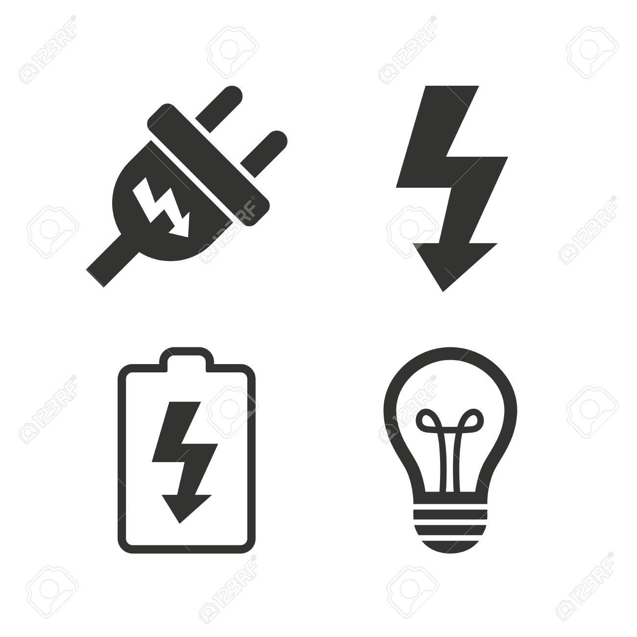 Groß Symbole Für Elektrischen Strom Zeitgenössisch - Elektrische ...