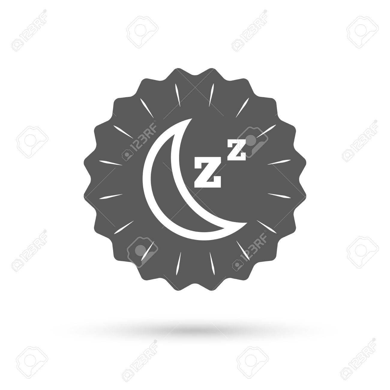 Vintage emblem medal sleep sign icon moon with zzz button vintage emblem medal sleep sign icon moon with zzz button standby classic biocorpaavc