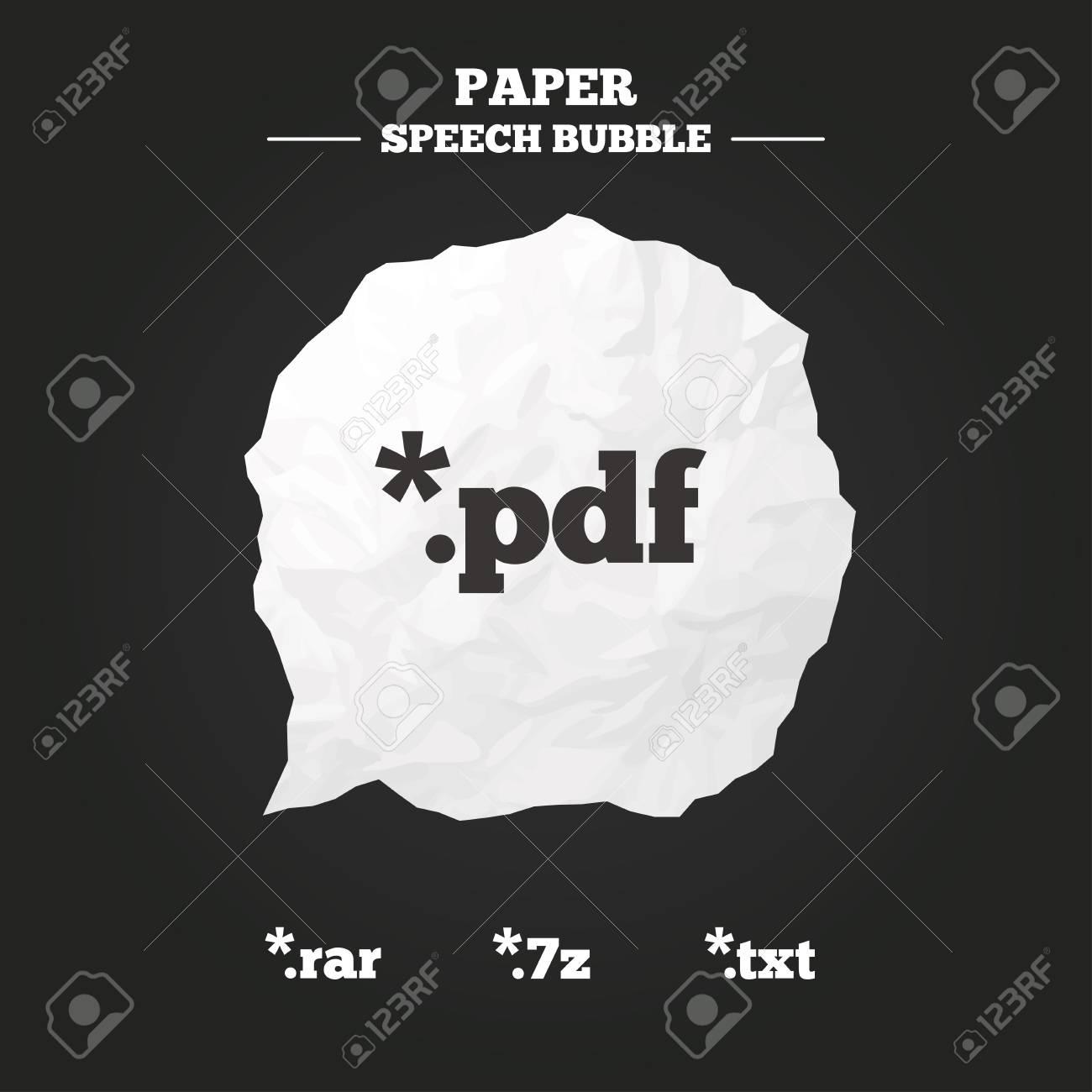 Document Icons File Extensions Symbols Pdf Rar 7z And Txt