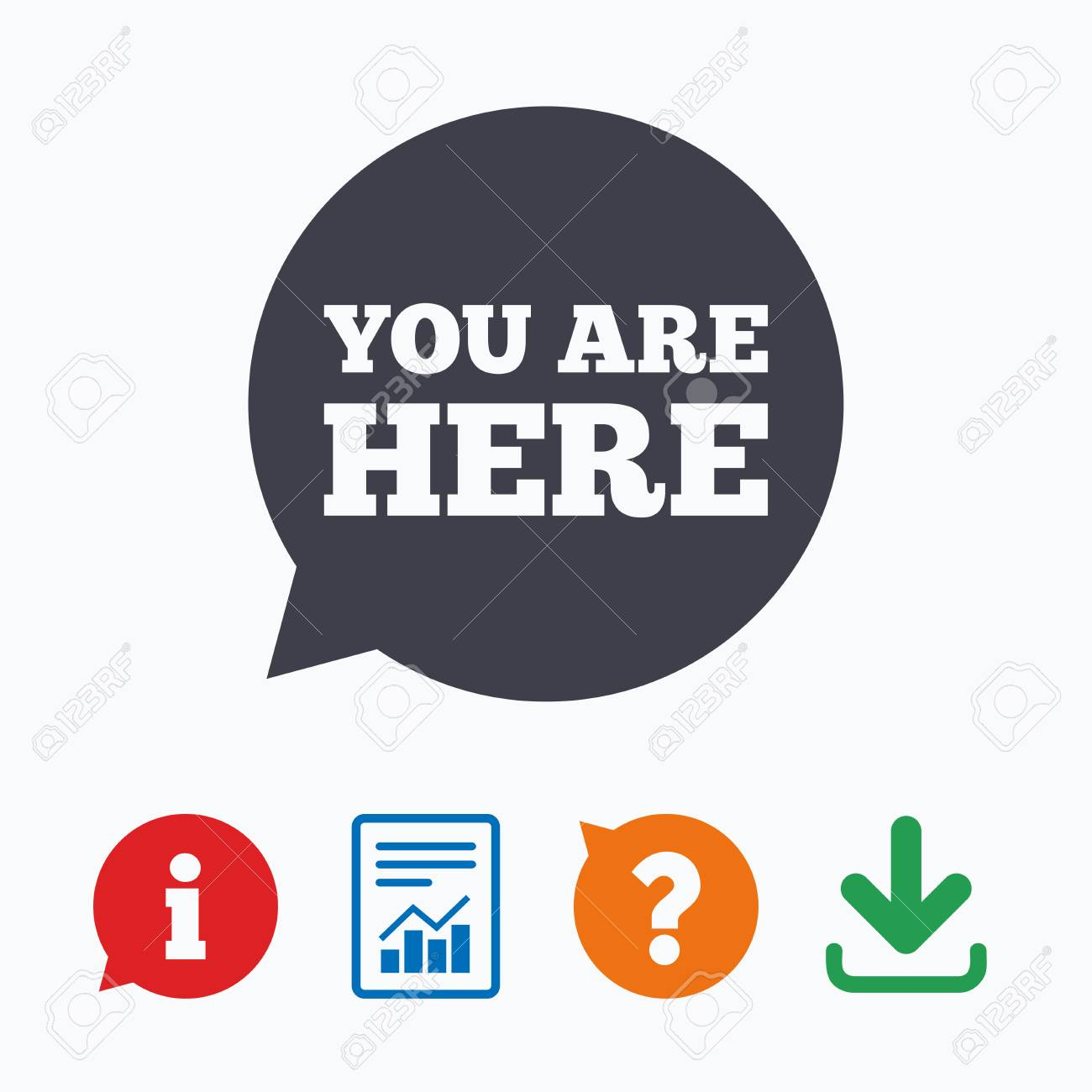 You are here sign icon info speech bubble map pointer with vector you are here sign icon info speech bubble map pointer with your location information think bubble question mark download and report publicscrutiny Gallery