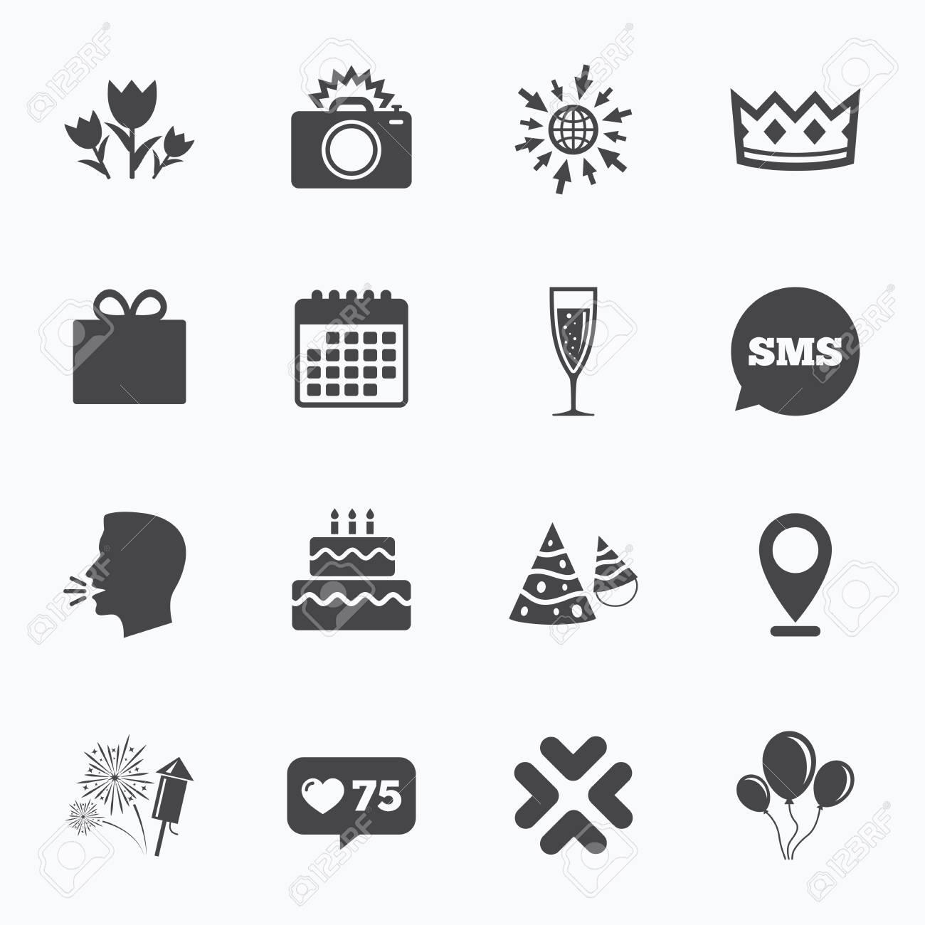 Kalender Gehen Sie Auf Web Und Wie Zahler Party Feier Geburtstag