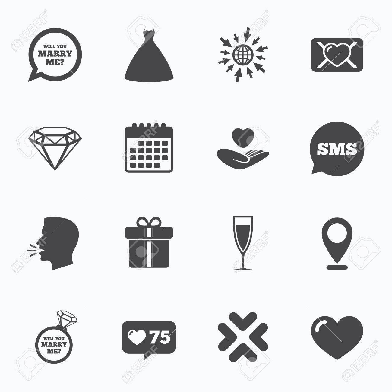 Kalender Gehen Sie Auf Web Und Wie Zahler Hochzeit Engagement