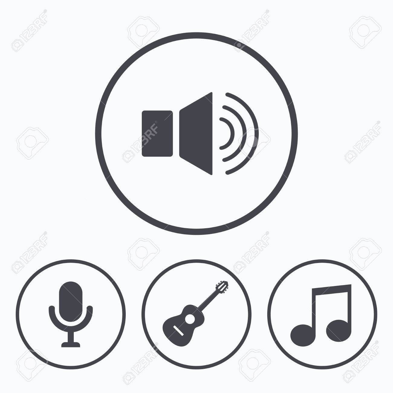 Symbol music note image collections symbol and sign ideas musical elements icons microphone and sound speaker symbols musical elements icons microphone and sound speaker symbols buycottarizona